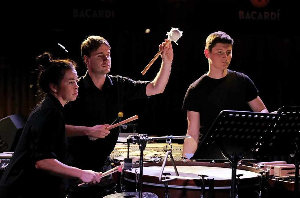 Bangers & Crash Percussion Group © Hannah Levy