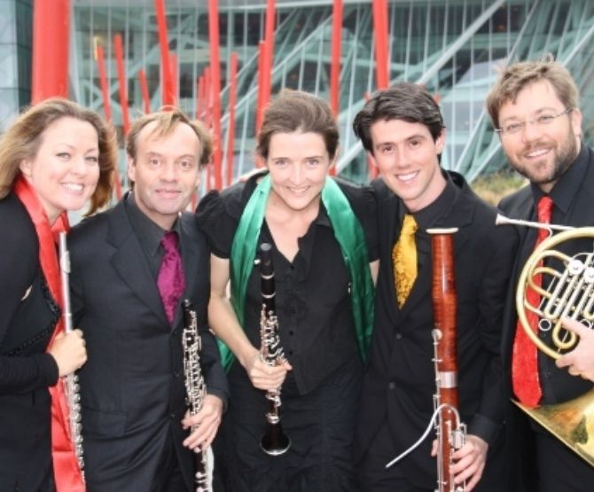 Contemporary Music Centre presents Cassiopeia Wind Quintet